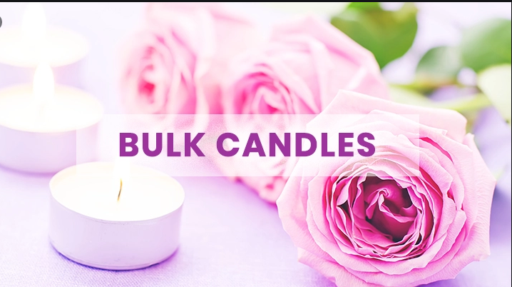People can decorate their homes with wholesale candles