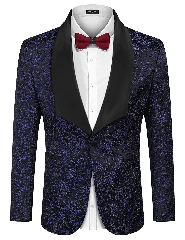 Men dinner jacket by Sebastián Cruz Couture, a true wardrobe star