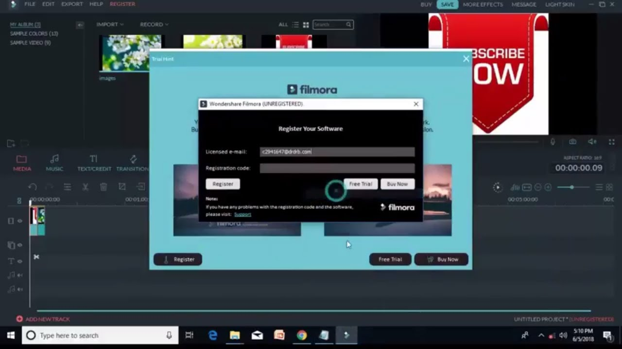Filmora serial key is one of the most useful programs today