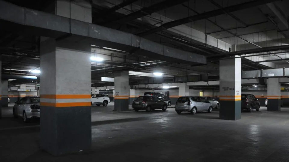 How will you experience the benefits of having a private parking lot?