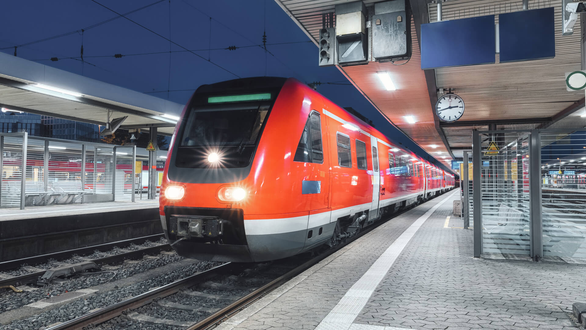 What are the reasons for taking DB timetable information service?